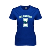 Ladies Royal T Shirt-Islanders w/I