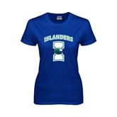 Ladies Royal T Shirt-Islanders w/I