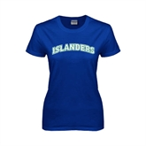 Ladies Royal T Shirt-Arched Islanders