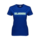 Ladies Royal T Shirt-Islanders