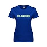 Ladies Royal T Shirt-Islanders