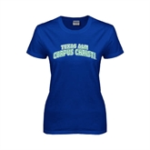 Ladies Royal T Shirt-Arched Texas A&M Corpus Christi