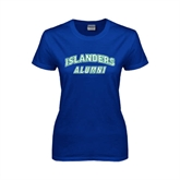 Ladies Royal T Shirt-Alumni
