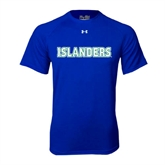 Under Armour Royal Tech Tee-Islanders