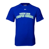 Under Armour Royal Tech Tee-Arched Texas A&M Corpus Christi