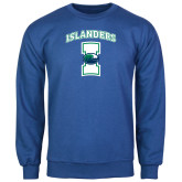 Royal Fleece Crew-Islanders w/I