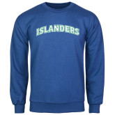Royal Fleece Crew-Arched Islanders