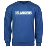 Royal Fleece Crew-Islanders