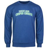 Royal Fleece Crew-Arched Texas A&M Corpus Christi
