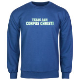 Royal Fleece Crew-Texas A&M Corpus Christi