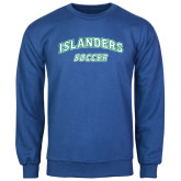 Royal Fleece Crew-Soccer