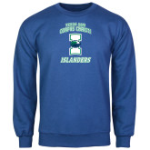 Royal Fleece Crew-Texas A&M Corpus Christi Islanders