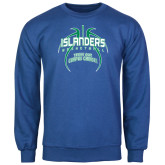 Royal Fleece Crew-Islanders Basketball