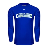 Under Armour Royal Long Sleeve Tech Tee-Arched Texas A&M Corpus Christi Design