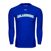 Under Armour Royal Long Sleeve Tech Tee-Arched Islanders