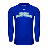 Under Armour Royal Long Sleeve Tech Tee-Arched Texas A&M Corpus Christi