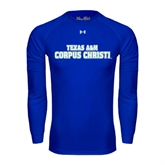 Under Armour Royal Long Sleeve Tech Tee-Texas A&M Corpus Christi