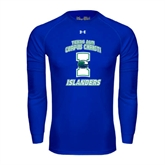 Under Armour Royal Long Sleeve Tech Tee-Texas A&M Corpus Christi Islanders