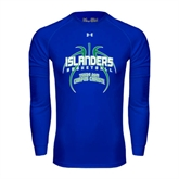 Under Armour Royal Long Sleeve Tech Tee-Islanders Basketball