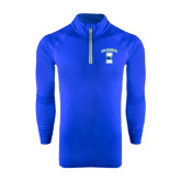 Under Armour Royal Tech 1/4 Zip Performance Shirt-Islanders w/I