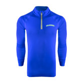 Under Armour Royal Tech 1/4 Zip Performance Shirt-Arched Islanders