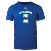 Adidas Royal Logo T Shirt-Islanders w/I