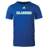 Adidas Royal Logo T Shirt-Islanders