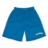 Performance Royal 9 Inch Length Shorts-Arched Islanders