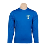 Performance Royal Longsleeve Shirt-Islanders w/I