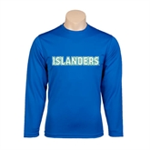 Syntrel Performance Royal Longsleeve Shirt-Islanders