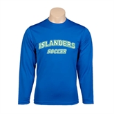 Performance Royal Longsleeve Shirt-Soccer