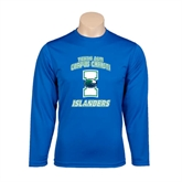 Syntrel Performance Royal Longsleeve Shirt-Texas A&M Corpus Christi Islanders