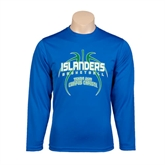 Syntrel Performance Royal Longsleeve Shirt-Islanders Basketball