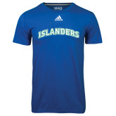 Adidas Climalite Royal Ultimate Performance Tee-Arched Islanders