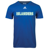 Adidas Climalite Royal Ultimate Performance Tee-Islanders
