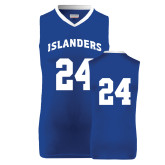 Replica Royal Adult Basketball Jersey-#24