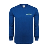Royal Long Sleeve T Shirt-Arched Islanders