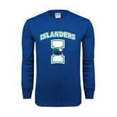 Royal Long Sleeve T Shirt-Islanders w/I