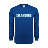 Royal Long Sleeve T Shirt-Islanders