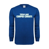 Royal Long Sleeve T Shirt-Texas A&M Corpus Christi
