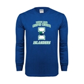 Royal Long Sleeve T Shirt-Texas A&M Corpus Christi Islanders