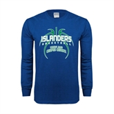 Royal Long Sleeve T Shirt-Islanders Basketball
