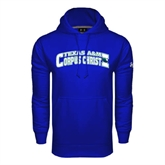 Under Armour Royal Performance Sweats Team Hoodie-Arched Texas A&M Corpus Christi Design