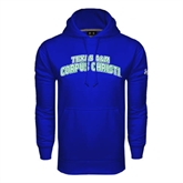 Under Armour Royal Performance Sweats Team Hoodie-Arched Texas A&M Corpus Christi