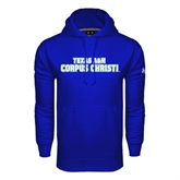 Under Armour Royal Performance Sweats Team Hoodie-Texas A&M Corpus Christi