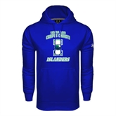 Under Armour Royal Performance Sweats Team Hoodie-Texas A&M Corpus Christi Islanders
