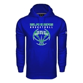 Under Armour Royal Performance Sweats Team Hoodie-Islanders Basketball Stacked