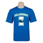 Performance Royal Tee-Islanders w/I
