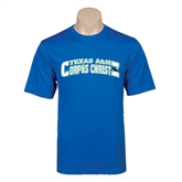 Performance Royal Tee-Arched Texas A&M Corpus Christi Design