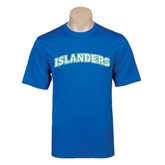 Performance Royal Tee-Arched Islanders